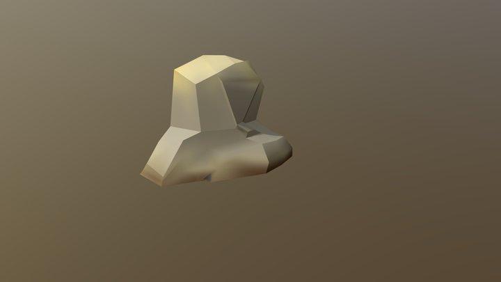 Rock Shape version 1 3D Model
