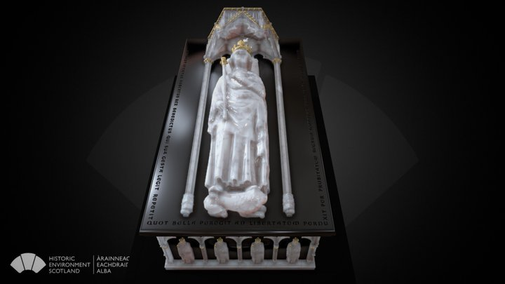 The tomb of Robert the Bruce 3D Model