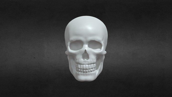 skull speed sculpt 3D Model