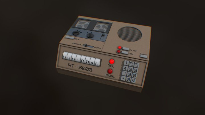 AutoCaller AT-5000 3D Model