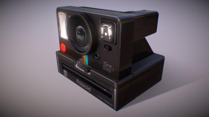 Retro Polaroid Camera (Beta2) 3D Model