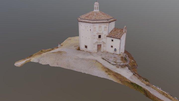 Chiesa di Santa Maria della Pietà. Calascio 3D Model