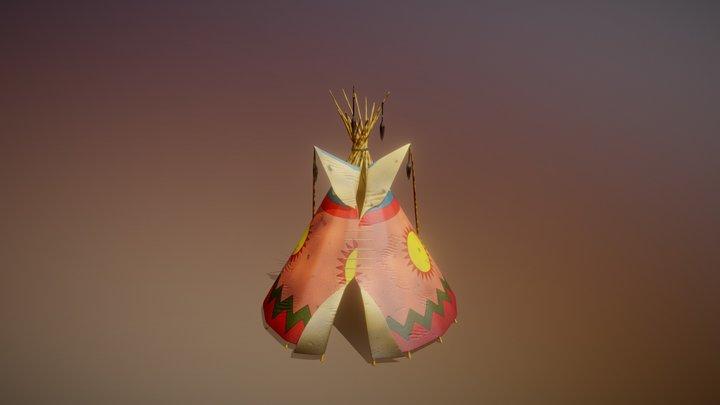 Tepee 3D Model