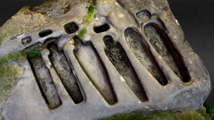 Stone Graves, St. Patrick's Chapel 3D Model