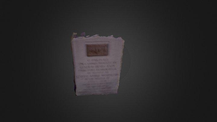 Monument 3 3D Model