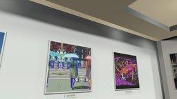 Instamuseum for @Studioalainh 3D Model