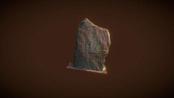 Runestone at the Danish National Museum 3D Model