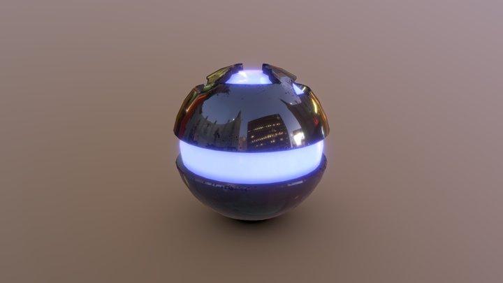 Granada De Plasma 3D Model