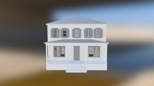 Oglethorpe Oak 3D Model