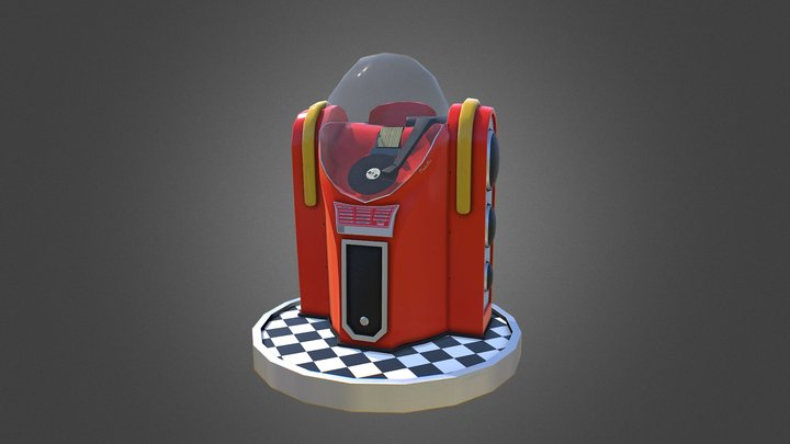 DukeBox 3D Model