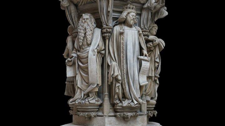 Puits de Moïse (Well of Moses) 3D Model