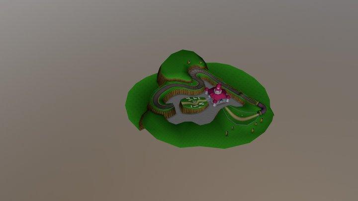 3DS - Mario Kart 7 - Mario Circuit 3D Model