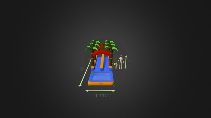 Details And Trees 3D Model