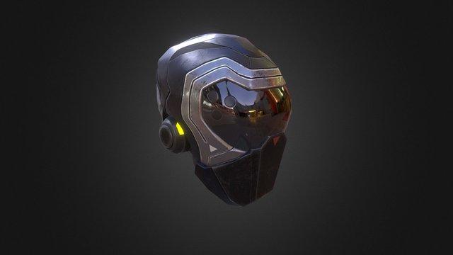 Stealth Helmet 3D Model