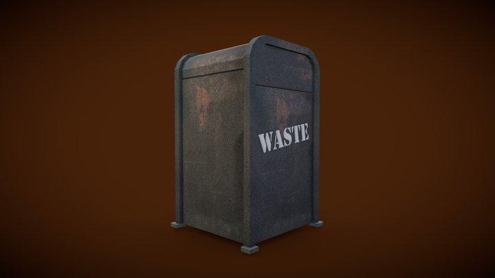 Indiana Jones Trash Can
