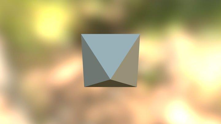 Octaedro 3D Model