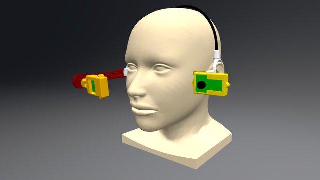 Modelheadset 3D Model