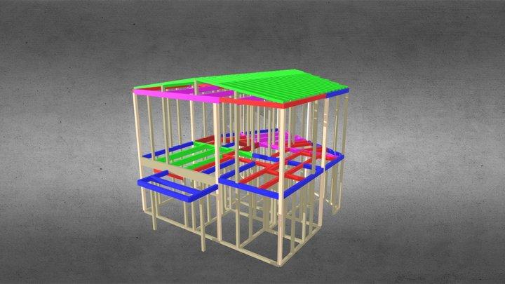 2018w M邸(奈良)設計工房フウカ 3D Model
