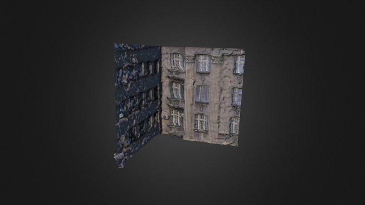 Interior Corner 3D Model