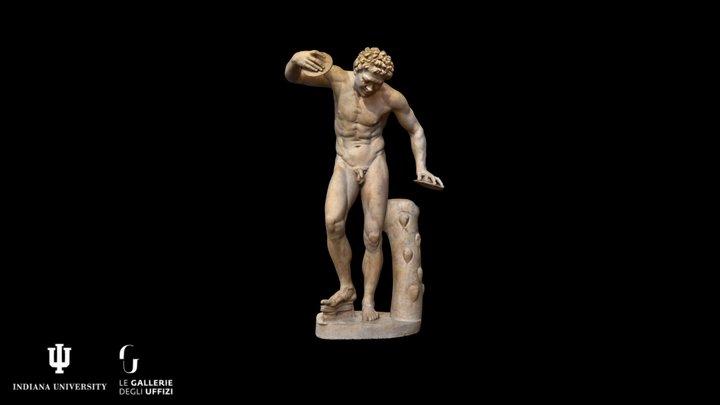 Dancing Satyr Inv. 1914 n. 220 3D Model