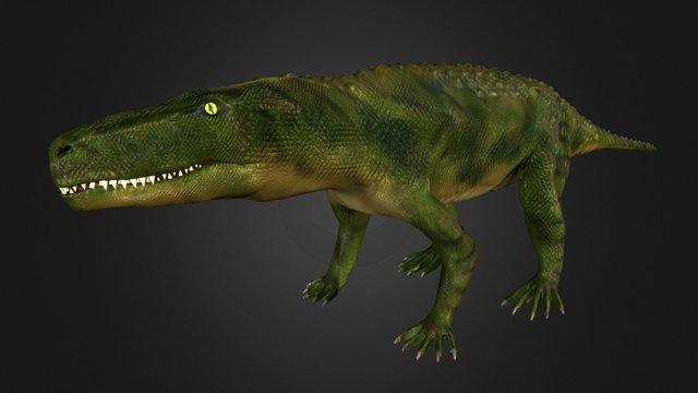 Fasolasuchus 3D Model