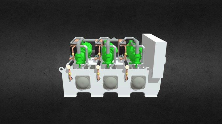 064 CWW-3x240kW 3D Model