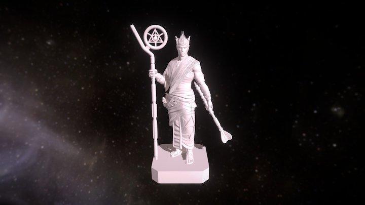 High King Apsu 3D Model