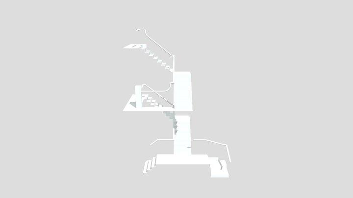 33875 MAIN STAIR 3D Model