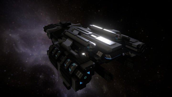 Leosteus Class Guardian 3D Model