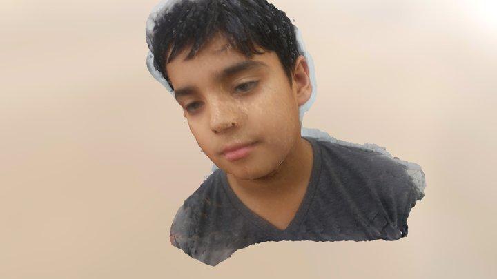 Adil in 3D 3D Model