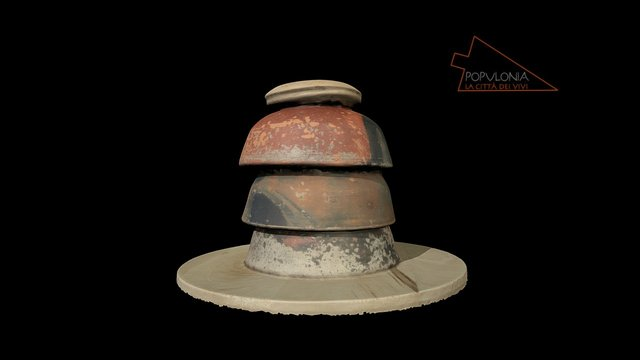 Pottery spacer 3D Model