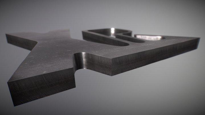 XPR300 - Amostra de corte em aço inoxidável (PT)