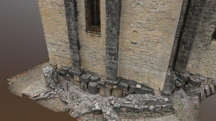 Cathédrale Notre-Dame-de-Nazareth 3D Model