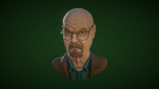 Walter White 3D Model