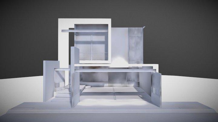 Maqueta Blanca 3D Model