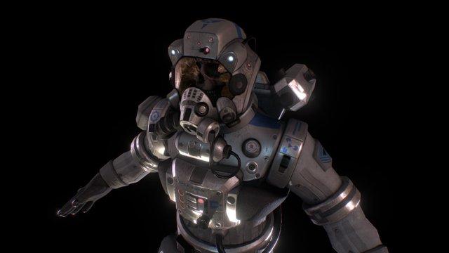 Dead DOM Pilot 3D Model