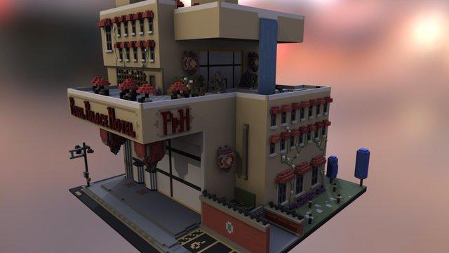 Hotel 3D Model
