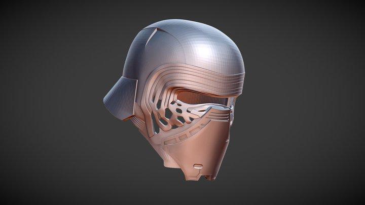 Star Wars Kylo Ren 3D Print beta version 3D Model