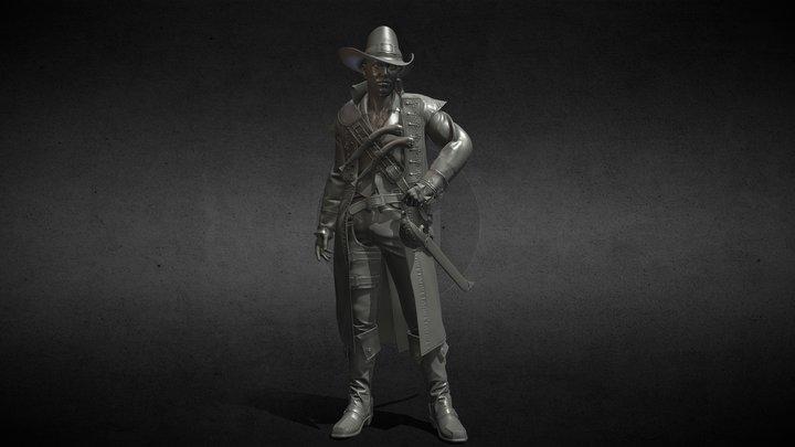 Marine hunter 3D Model