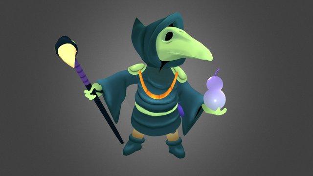 Plague Knight 3D Model