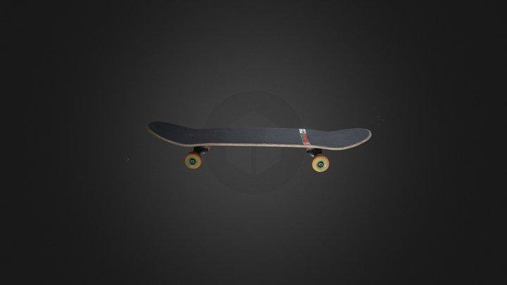 Tony Hawk Skateboard 3D Model