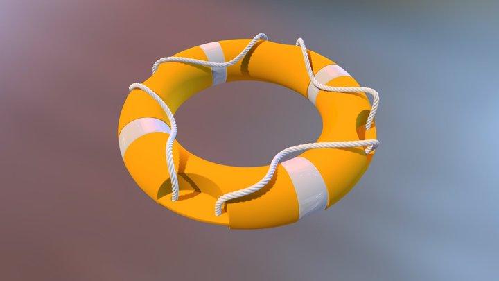 Lifeguard 3D Model