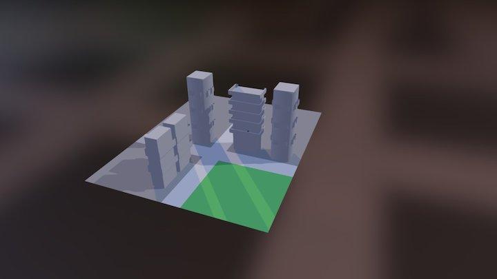 Exo Ranger 3D Model