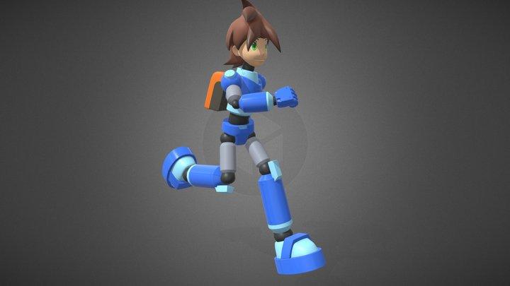 Megaman Volnutt 3D Model