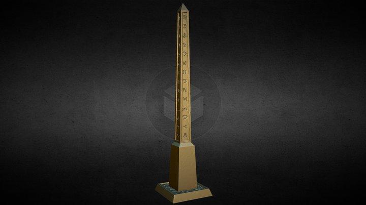Nemoriko`s : Tabletop Obelisk (marker) 3D Model