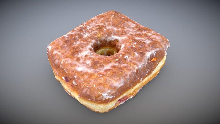 Doughnut Plant Square Donut 3D Model