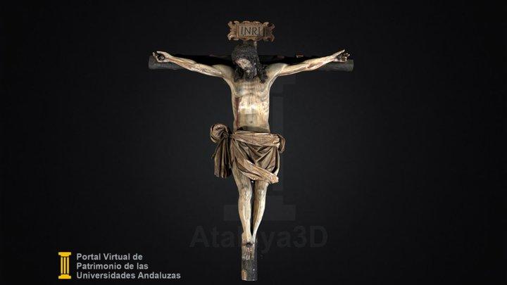 Cristo Crucificado 3D Model