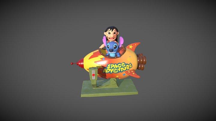 Lilo & Stitch Space Adventure 3D Model