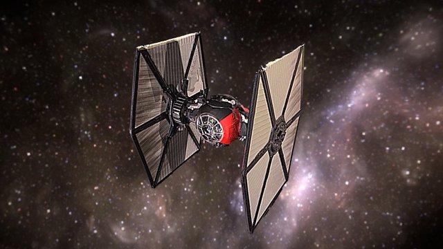 Star Wars TIE Fighter 3D Model