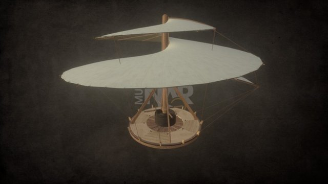 L3 Machines Collection - Aerial Screw 3D Model